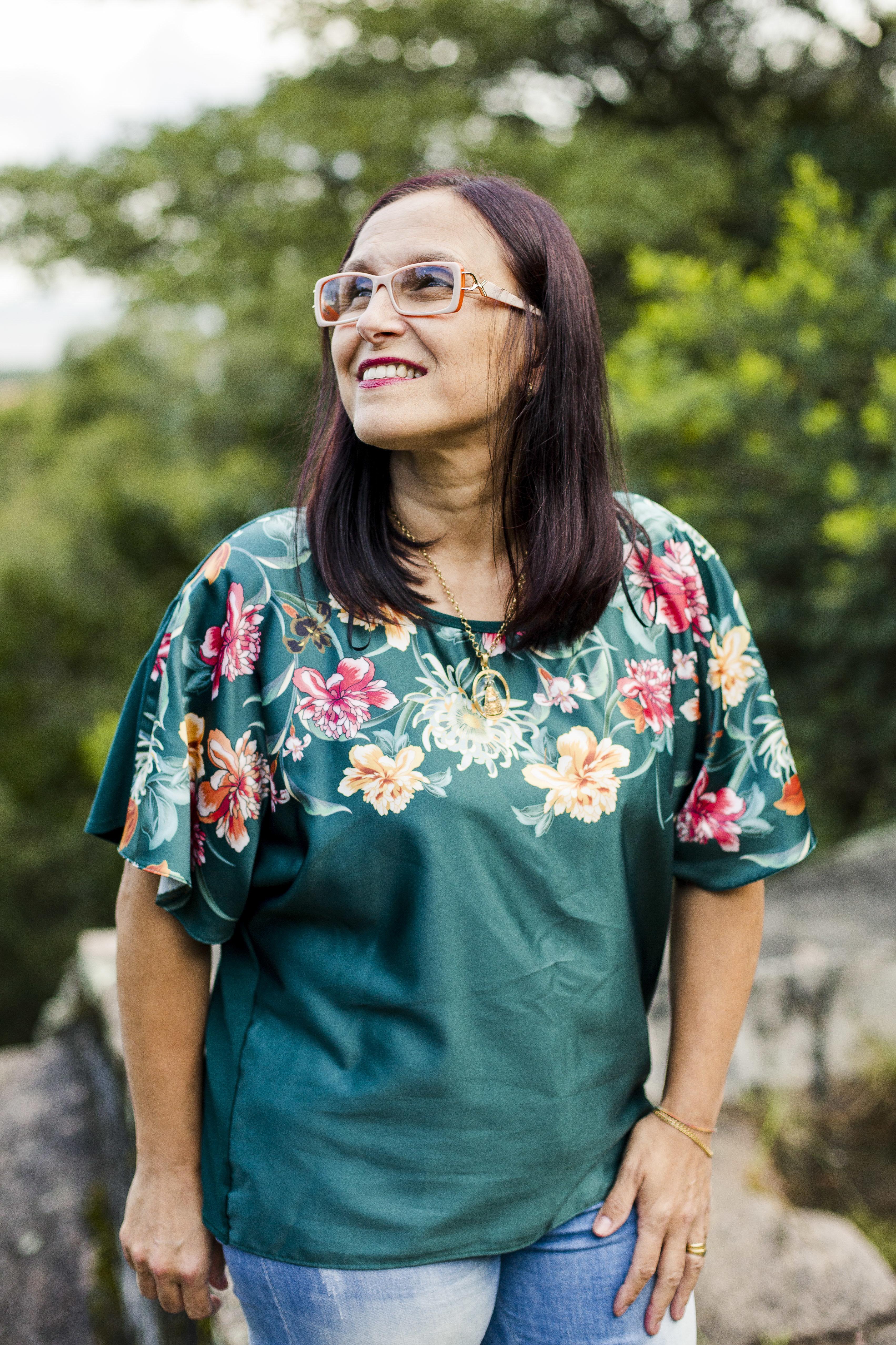 Cláudia Araújo, a mulher que une forças para espalhar a 'corrente do