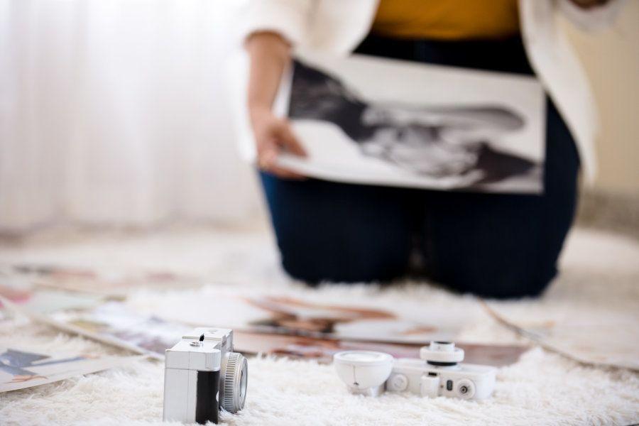 Paula começou a estudar edição de imagens aos 19 anos em