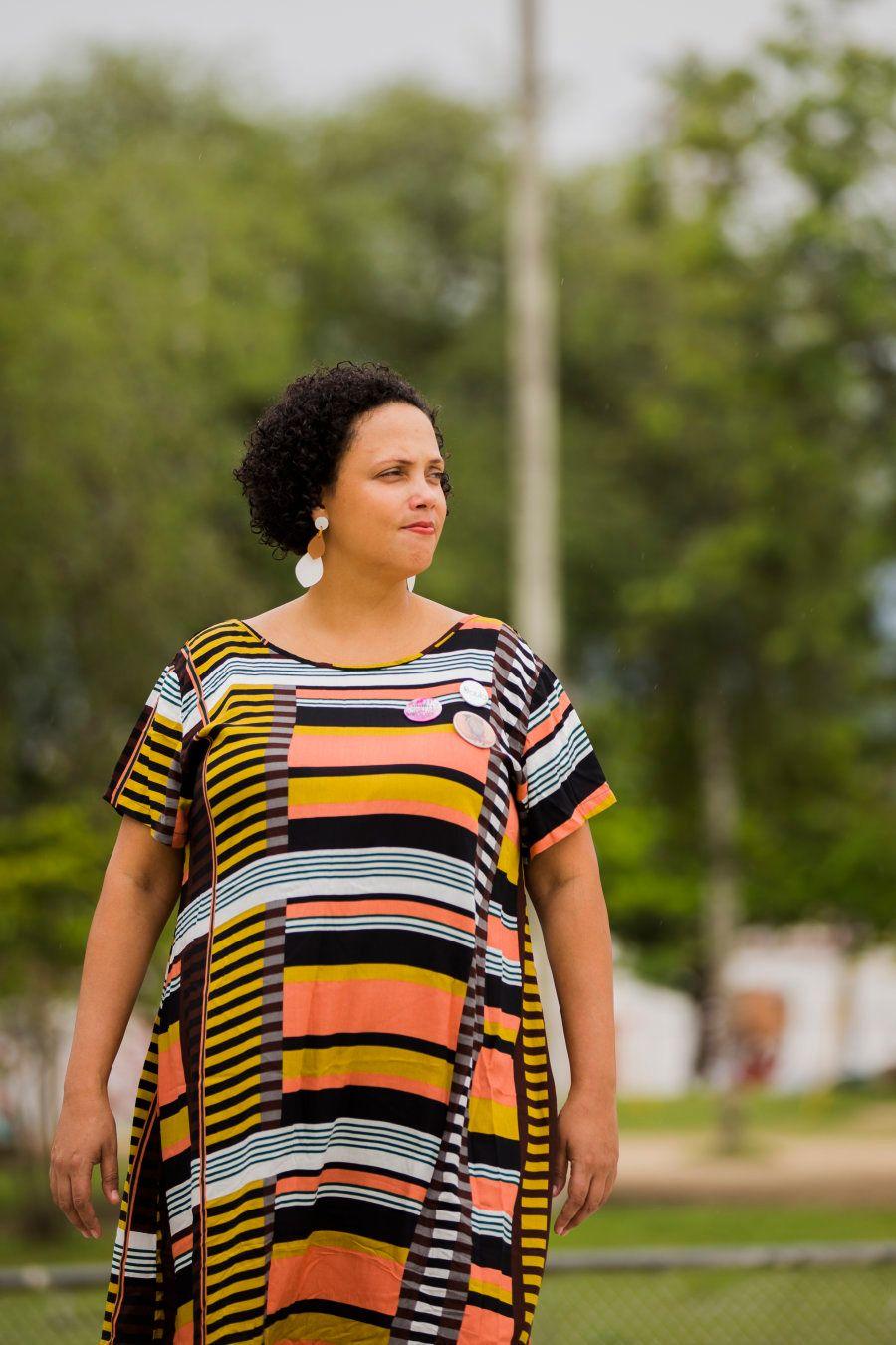 O ativismo, ela conta, começou na adolescência, após dar à luz seu primeiro
