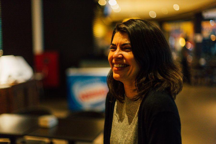 Silvia sorri hoje, mas sentiu na pele a dificuldade que ainda existe de mulheres entrarem em áreas consideradas