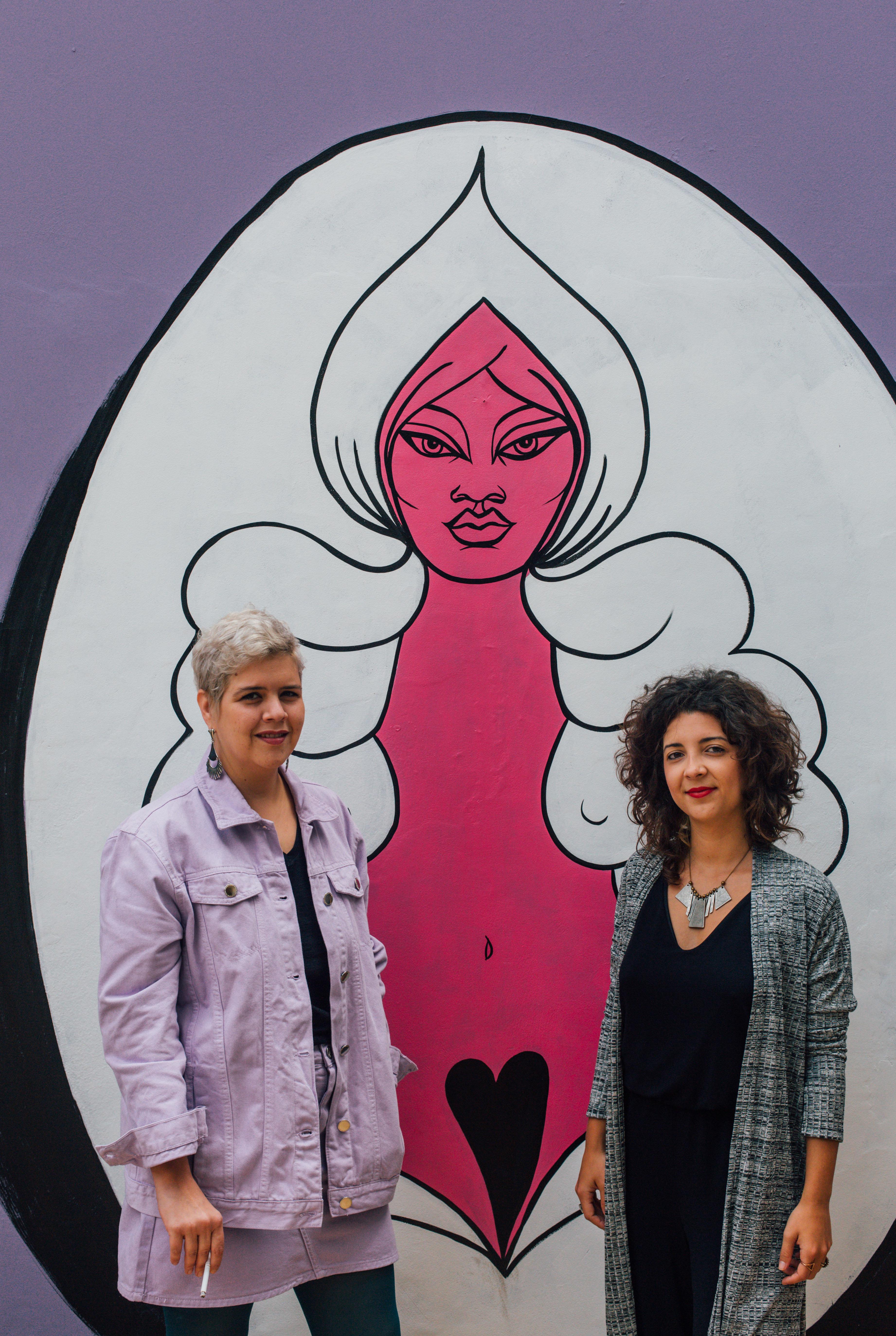 As donas da 'Casa Vulva', o espaço cultural que celebra o