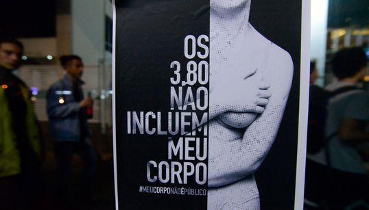 A cada 20 horas, uma mulher sofre importunação sexual no transporte da Grande