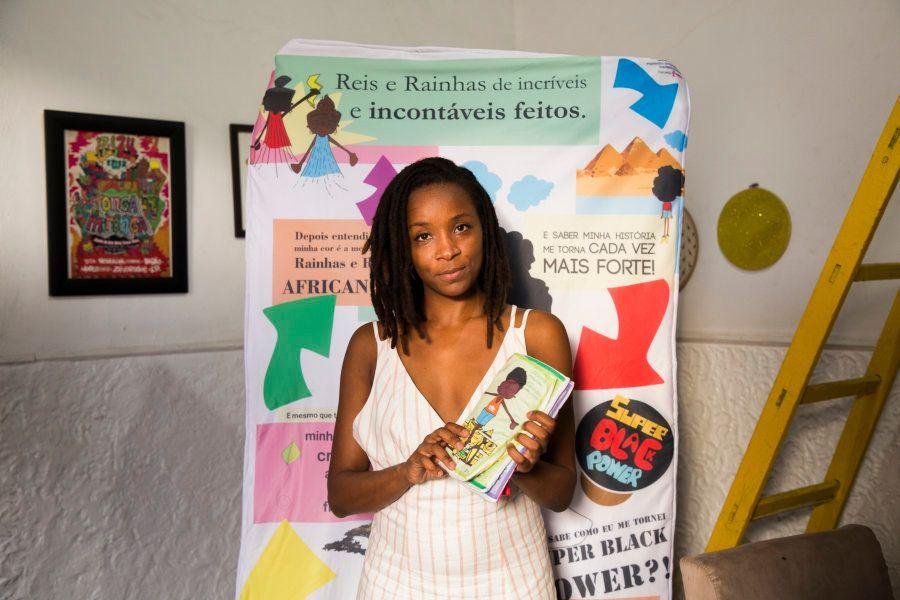 Jaciana acredita que quando realizar seu sonho, o impacto na vida de milhares de crianças negras será
