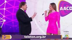 Claudia Leitte faz desabafo sobre comportamento de Silvio Santos no