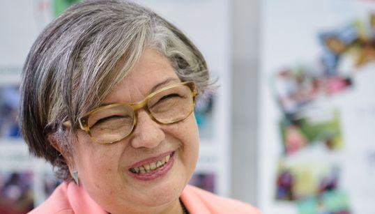 A voluntária que escolheu levar alegria e amor até pacientes