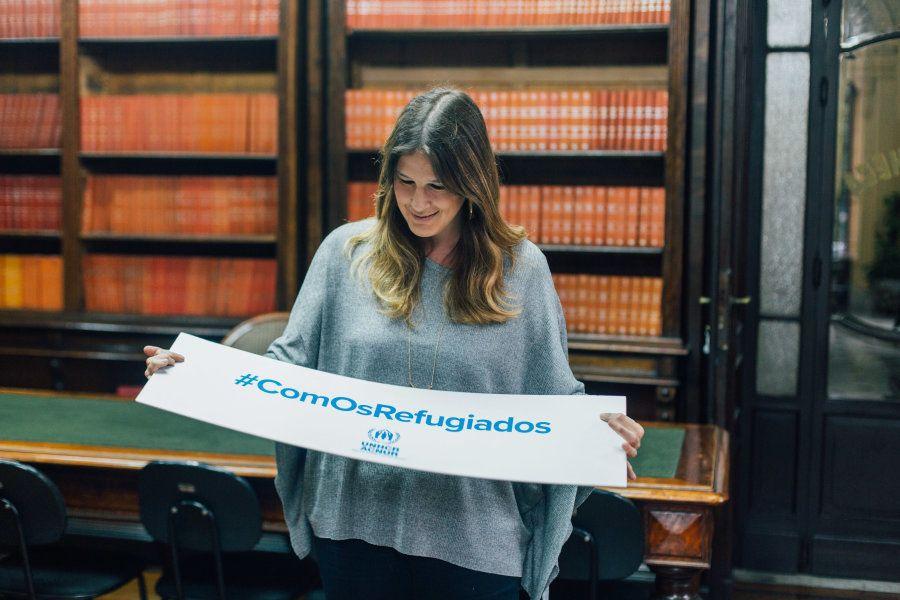 Hoje, ela é chefe do escritório de São Paulo da Acnur, Agência da ONU para