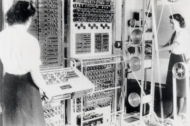 Bletchley Park, o centro de inteligência das forças britânicas durante a Segunda Guerra, onde especialistas...
