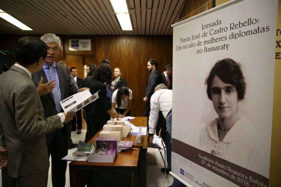 Em 27 de setembro de 1918, a baiana Maria José de Castro Rebello Mendes, foi aprovada em primeiro lugar...