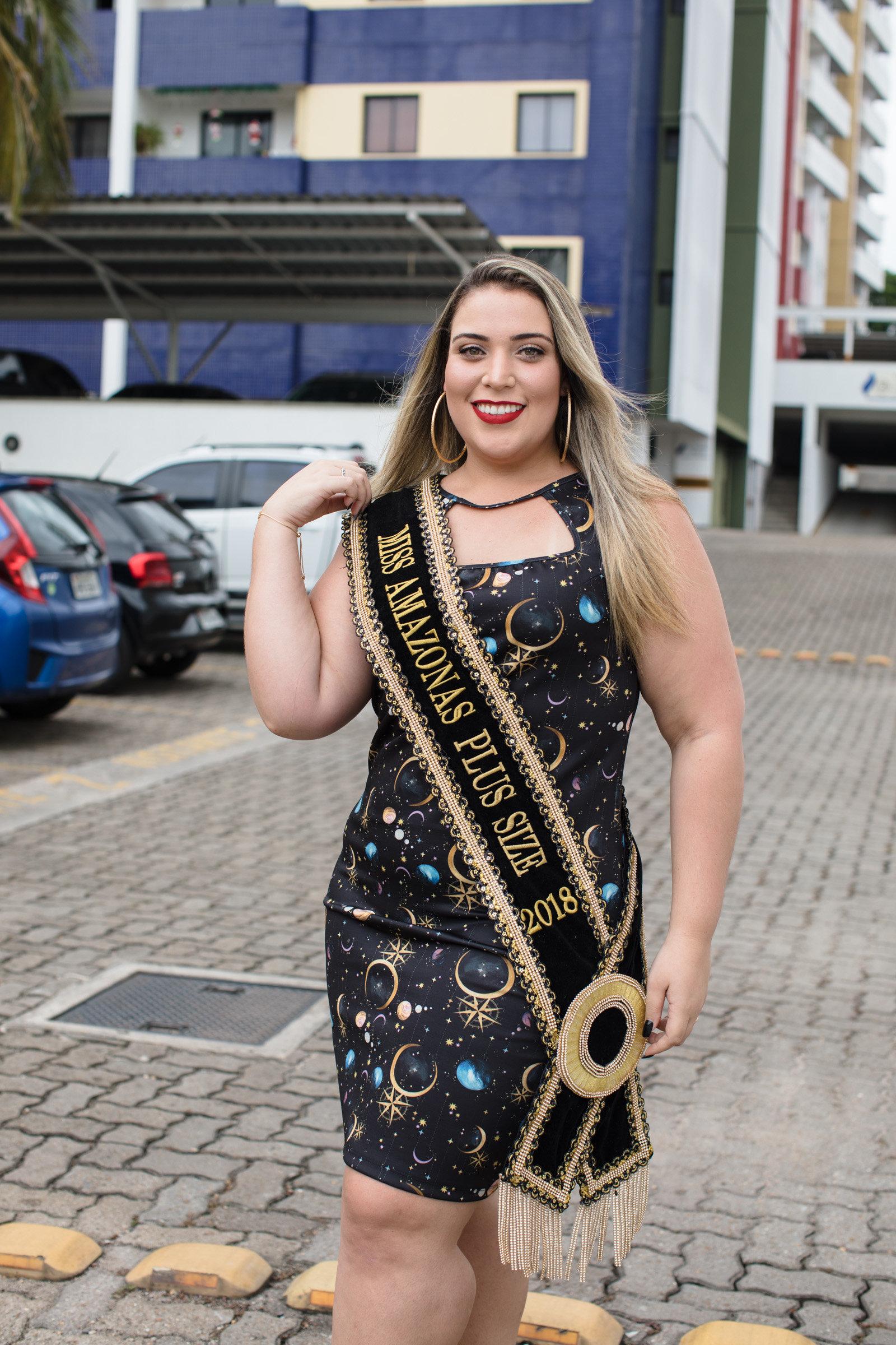 O caminho de Alessandra Caldas, a Miss Plus Size Amazonas