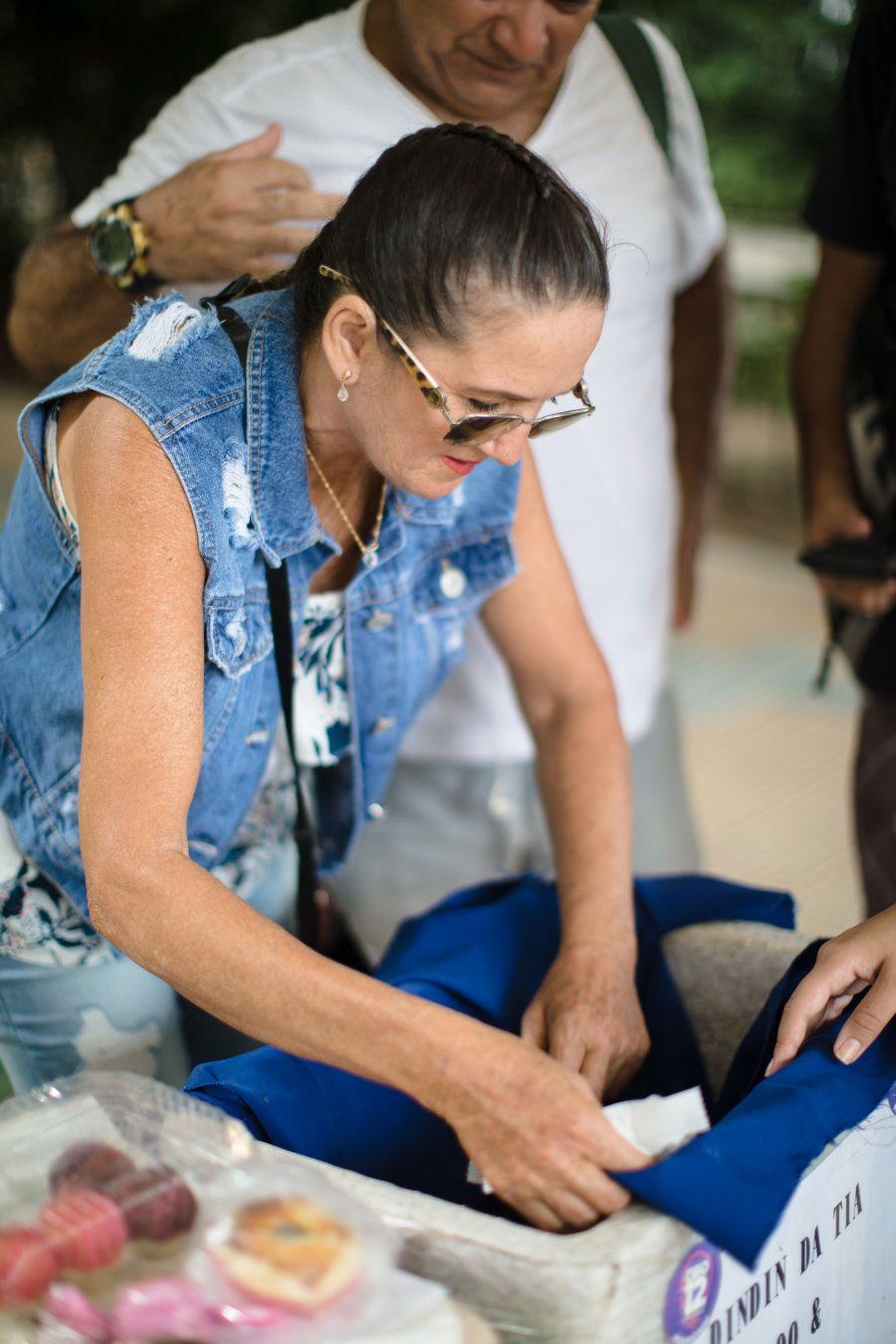 Ela é conhecida por vender todos esses quitutes na Universidade Federal do Amazonas (UFAM), em