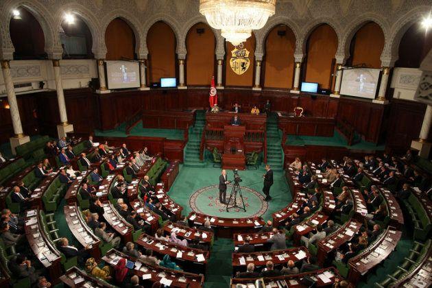 O Parlamento tunisiano em outubro de