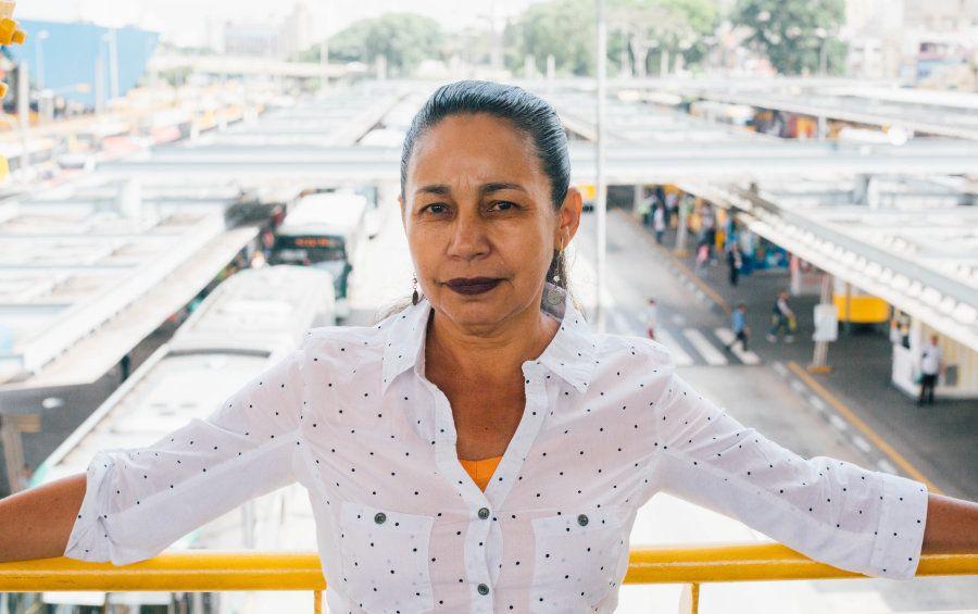 Ela lembra que já chegou a São Paulo com a ideia de ser policial, enfermeira ou