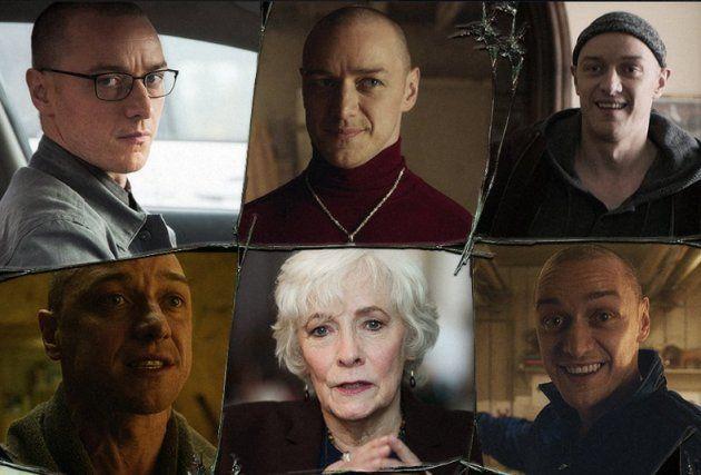 A psiquiatra Dra. Fletcher (Betty Buckley) tenta ajudar o fragmentado Kevin e suas várias personalidades.