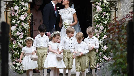 Casamento Pippa Middleton: O excesso de fofura nas fotos do príncipe George e da princesa