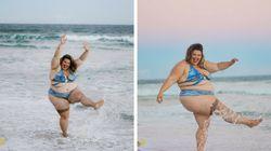 Dançarina da Anitta prova que a única coisa que você precisa para ir à praia é um