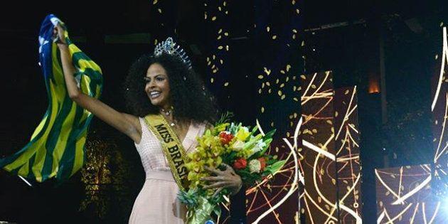 Monalysa Alcântara, a Miss Brasil