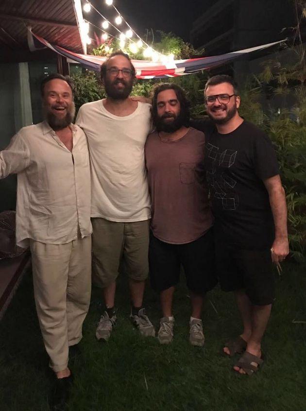 Músicos cariocas se reuniram no Rio de