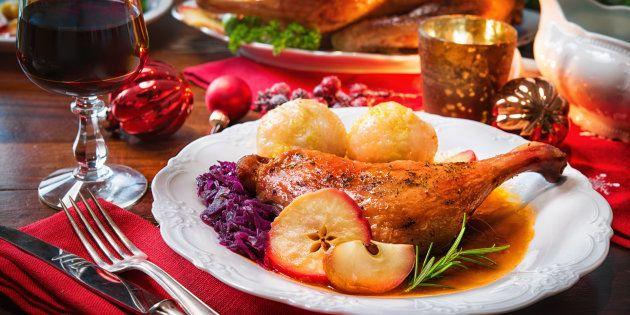 O peru de Natal é um dos principais pratos da