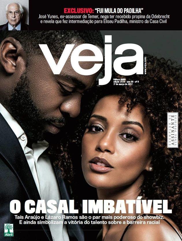 'O casal imbatível': Taís Araújo e Lázaro Ramos estão poderosíssimos em capa da revista
