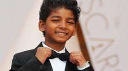 E o Oscar de 'coisa mais fofa do tapete vermelho' vai para o pequeno Sunny
