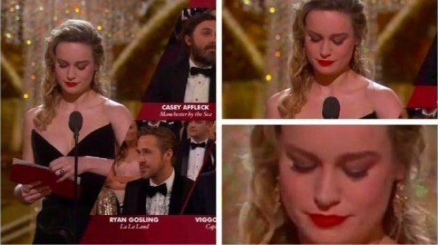 Brie Larson se recusou a bater palmas para Casey Affleck após anunciá-lo como 'Melhor