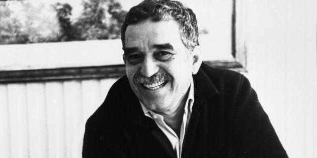 Gabriel Garcia Marquez, em 1987, celebrando os 20 anos do