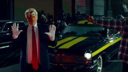 Donald Trump não gostou nada de aparecer como alvo de Snoop Dog em novo