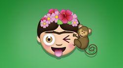 Os autorretratos de Frida Kahlo viraram emojis. Ou melhor,