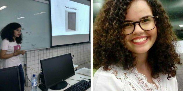 Soraya Roberta criou o Poesia Compilada, um projeto que ensina linguagem de programação por meio de