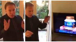 Este é Silvio Santos relembrando os tempos de camelô passando pela sua