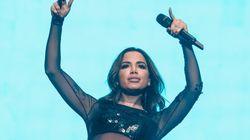 Anitta sobre ter namorados: 'Bastam meus amigos, uma penca de gays que