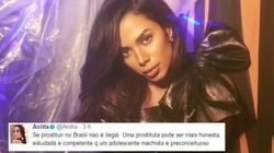 Um hater chamou Anitta de 'prostituta' e a resposta dela é puro