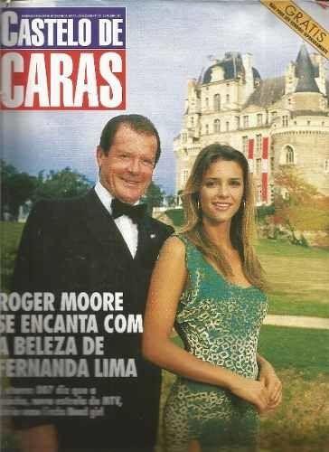 Pão de Açúcar, Renato Aragão e Fernanda Lima: As 3 passagens de Roger Moore pelo