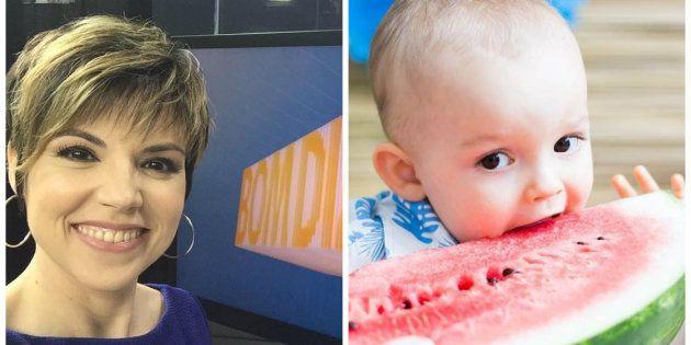 A reação do filho de Gloria Vanique ao vê-la no 'Bom Dia Brasil' é de derreter o