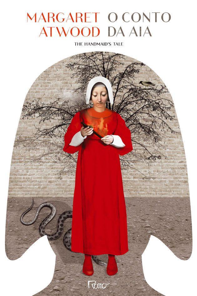 Capa da nova edição de 'O Conto da Aia', feita por Laurindo Feliciano para a