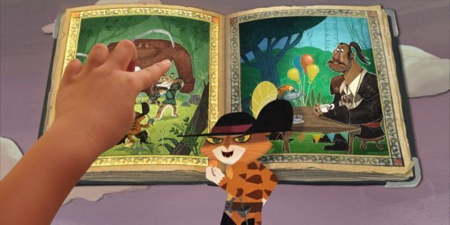 O Gato de Botas é o destaque da primeira animação interativa da Netflix disponível para crianças e