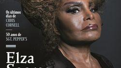 A consagração de Elza Soares como guerreira está na capa da Rolling Stone