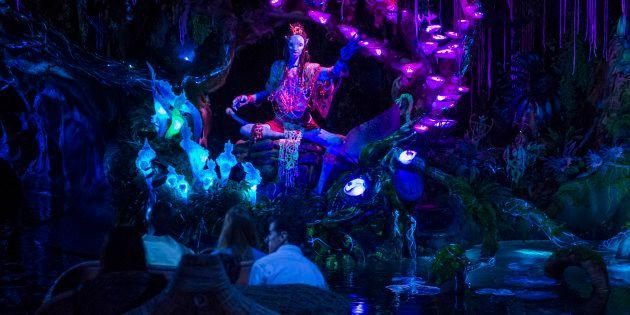 Maior extensão do Animal Kingdom foi inspirada no filme de James Cameron e inaugurada em 27 de