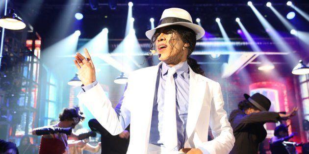 Ícaro Silva fez performance impecável de Smooth Criminal, sucesso do Rei do