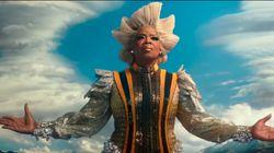 Oprah está simplesmente divina no 1º trailer de 'Uma Dobra no