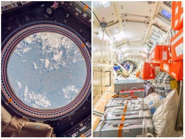 Estação Espacial Internacional foi construída no espaço durante 13
