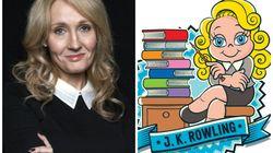 Hoje é aniversário de J.K. Rowling e ela ganhou um presentão da Turma da