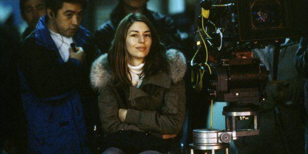 Sofia Coppola no set de 'Encontros e