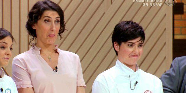 A chef Paola Carosella e as vencedoras Elisa Fernandes e Isabel Alvares arrasaram no