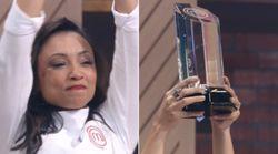 Michele Crispim é a grande vencedora do 'MasterChef Brasil