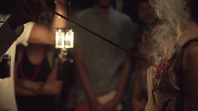 Frame do vídeo 'Transmutação da Carne', de Ayrson