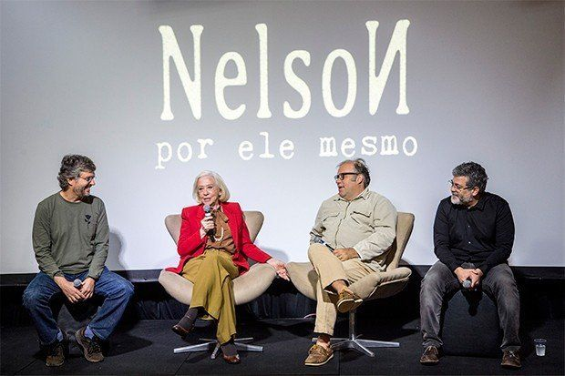 Fernanda Montenegro, Otávio Müller e os bastidores do quadro 'Nelson - Por Ele