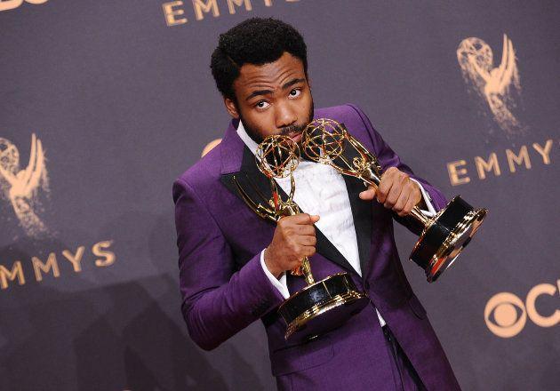Produtor, diretor e ator de 'Atlanta' Donald Glover levou dois prêmios no 'Emmy