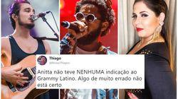 Encontre o erro na lista de brasileiros indicados ao 'Grammy Latino