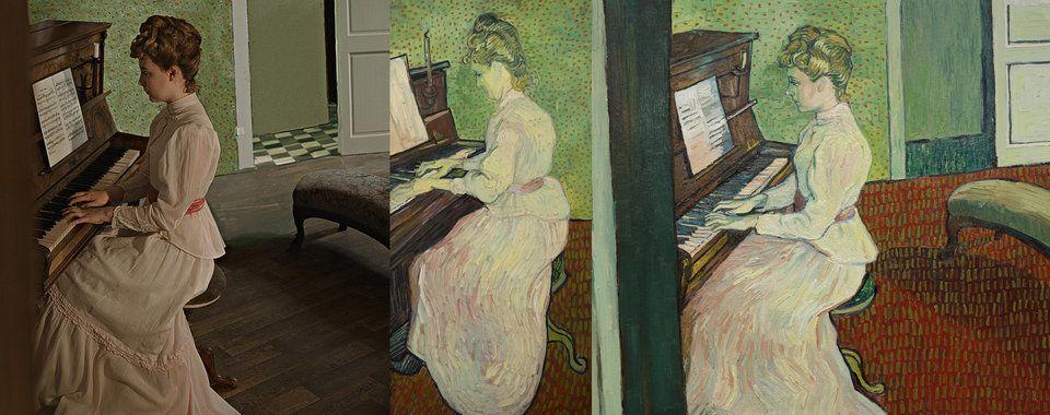 Atores se transformam em pinturas vivas de Van Gogh diante dos seus